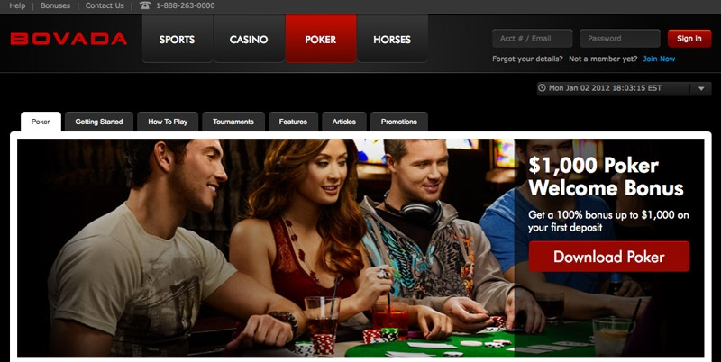Bovada Poker With Welcome Bonus