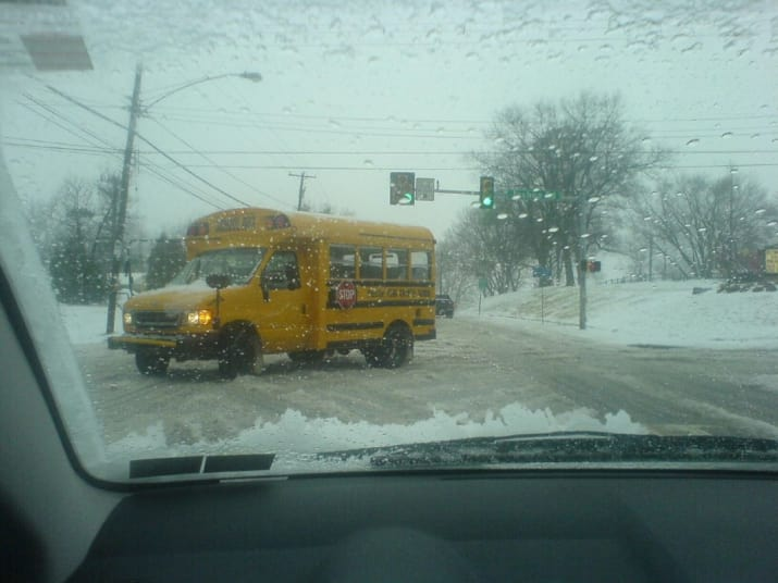 What it means everywhere else: A day off school if there\'s snow falling from the sky.What it means in the Midwest: Something that likely won\'t happen unless there are at least 3 feet of snow.