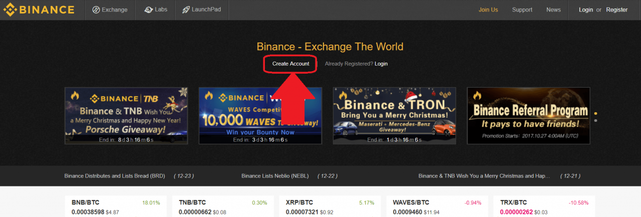 how to buy neo at binance