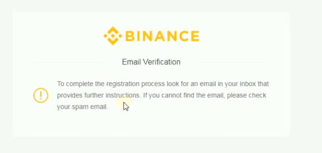 register at binance